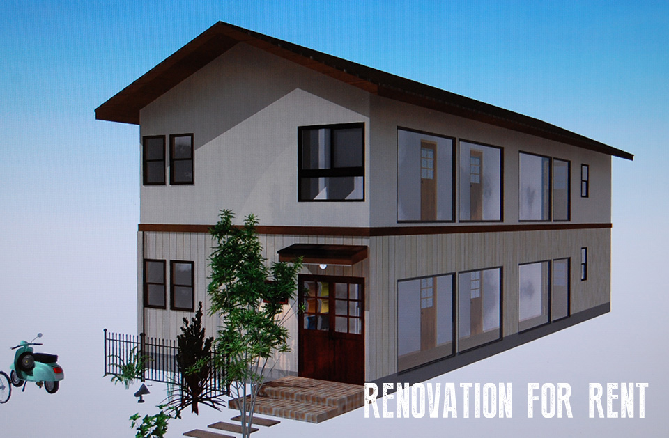 RENOVATION FOR RENT